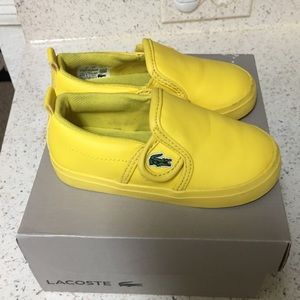 Lacoste toddler/baby Boy Shoes